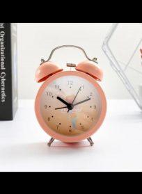 ساعت رومیزی فانتزی رنگی رنگی