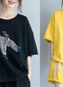 دو تیکه تیشرت و شرتک خاص