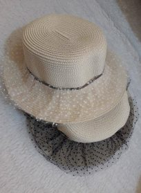 کلاه صحرایی توردار