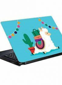اسکین و برچسب پشت لپ تاپ رنگی