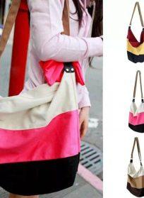 کیف دوشی رنگی رنگی