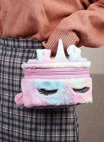 کیف آرایشی نرم و پشمالو