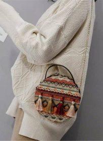 کیف دوشی سنتی گرد