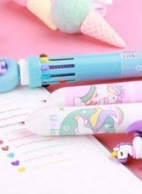 خودکار تک شاخ ۱۰ رنگ
