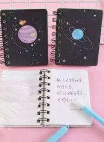 دفترچه های کهکشانی زیبا